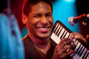 Jon Batiste takes the call from Stephen Colbert, Late Night House Band Leader
