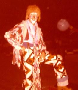 MichealZiantsAsRinglingBrosClownHersheyPa1978