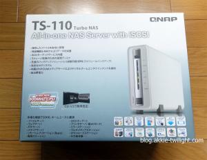 QNAP TS-110 外箱