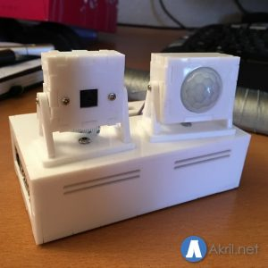 Install a motion sensor and a camera on your Raspberry Pi