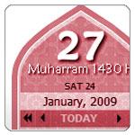 Hijri Calendar Converter Widget Released