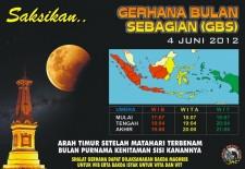 gerhana bulan sebagian 4 Juni 2012