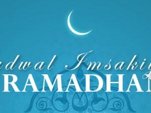 Jadwal Imsakiyah Ramadhan 1437 H (2016 M)