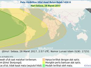 Kapan Rajab 1438 H (2017) Dimulai?