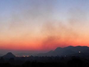 Foto-foto Bulan Sabit (Hilal) 1 Muharram 1439 H
