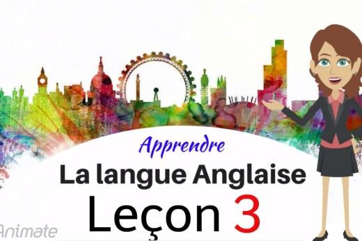 Regardez votre façon d'apprendre l'anglais-Partie 3!