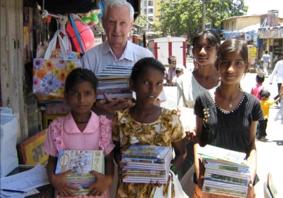 Sponsoring the books of girls from slums