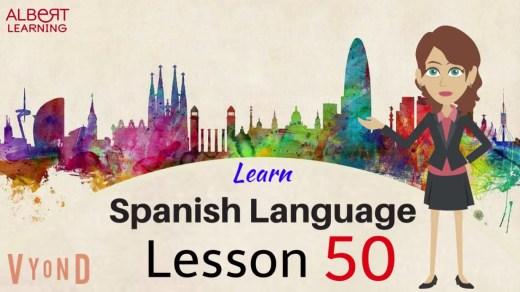 Become fluent in Spanish by watching this video online.