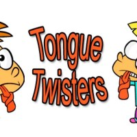 Tongue twisters in English.
