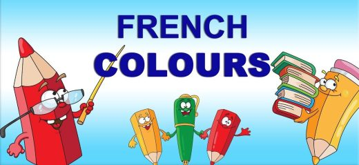 Learn to say colours in French.