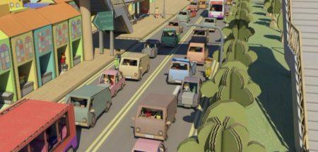 Jam pack traffic