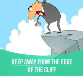 keep away from cliff