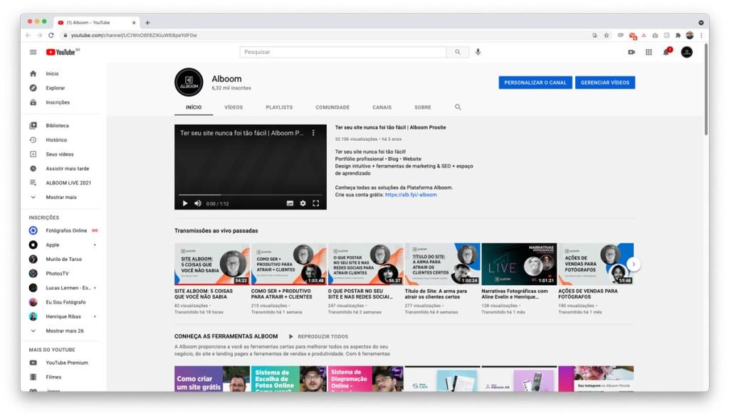 Youtube-pesquisa