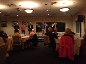 The Memories performs at the Chesapeake Beach Resort & Spa's Italian Wine Dinner.