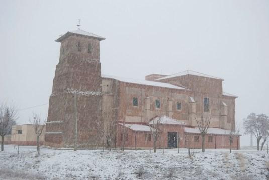 Nieve en Villabraz