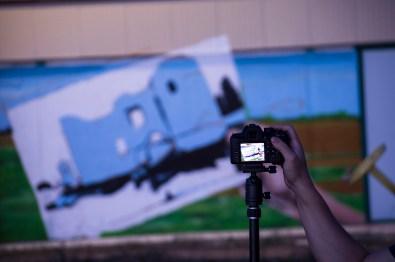 Fotografiando el Mural
