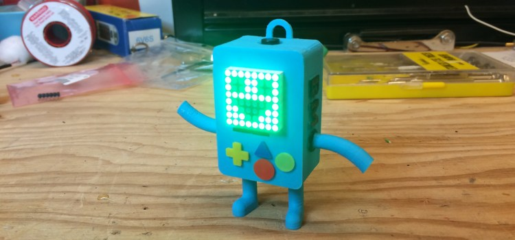 3D Printed BMO on Arduino Day 2015