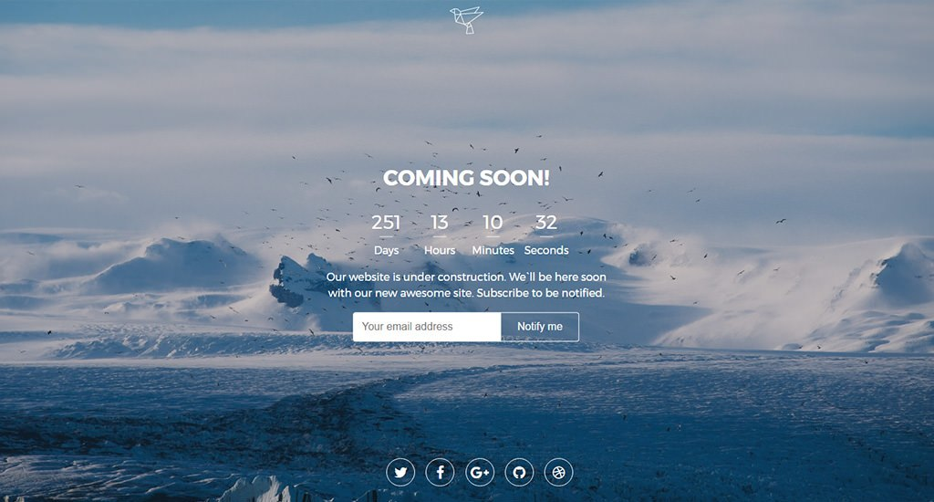 Learn How to Build Simple Coming Soon Page with Countdown