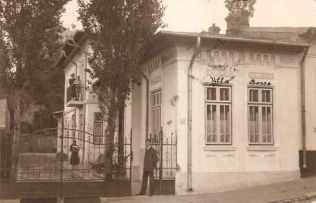 Casa familiei Bosa din Strada Filaret nr. 73 - Bucuresti in iunie 1972