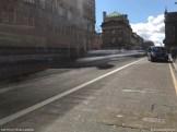 Cars driving down Bank Street