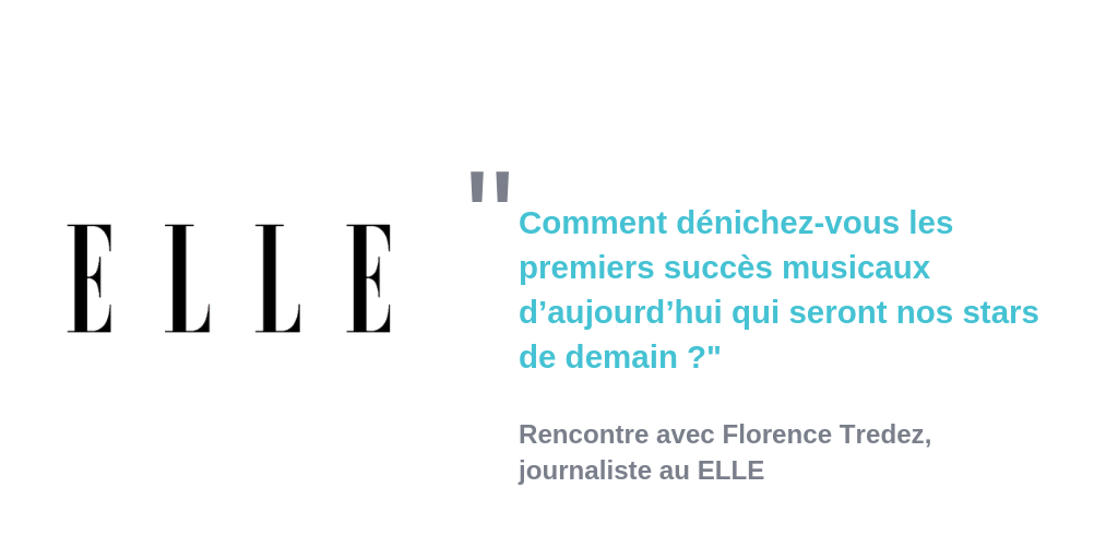 Interview Florence Tredez ELLE AlgoLinked