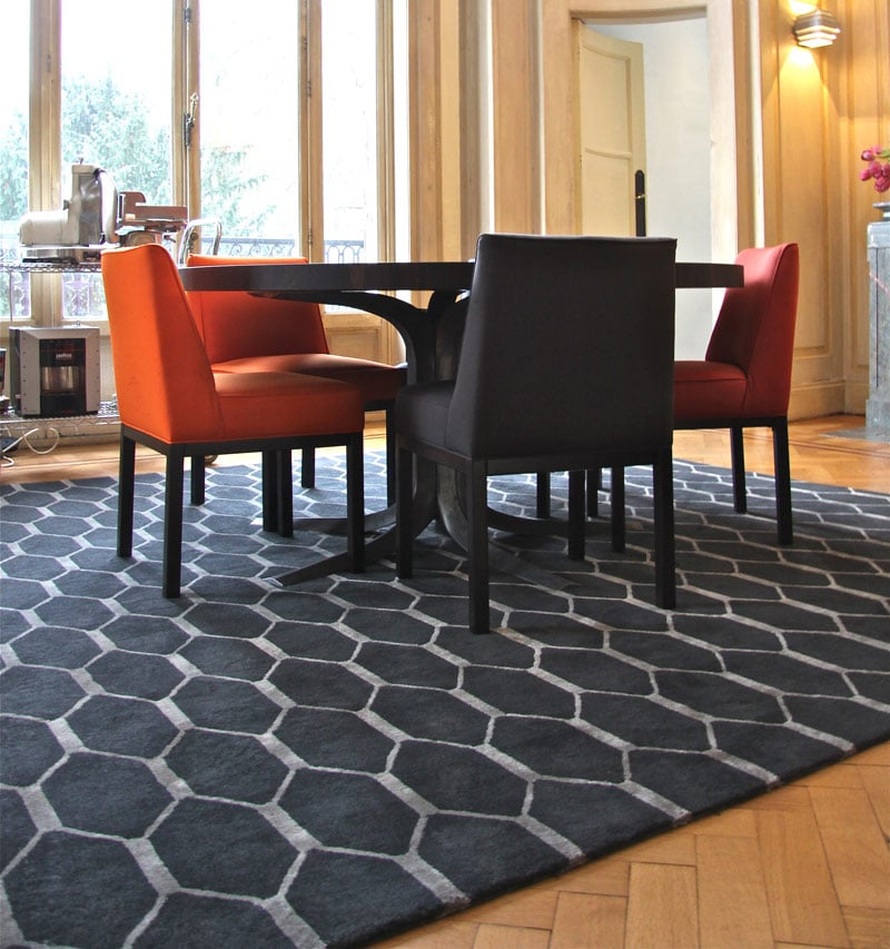 focus sur le tapis de salle manger le blog allotapis. Black Bedroom Furniture Sets. Home Design Ideas