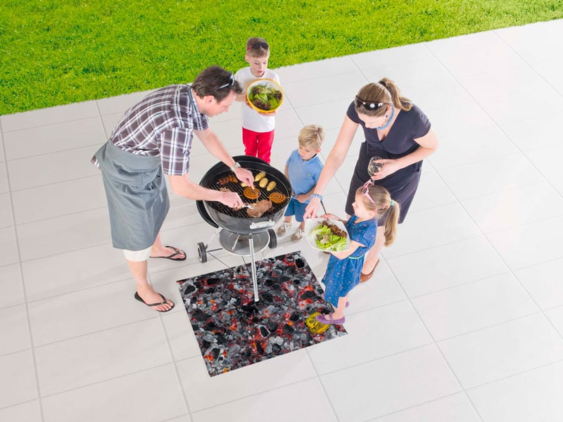 Tapis de barbecue