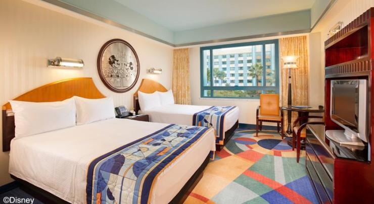 홍콩 가족여행 호텔 디즈니스 헐리우드 호텔 객실