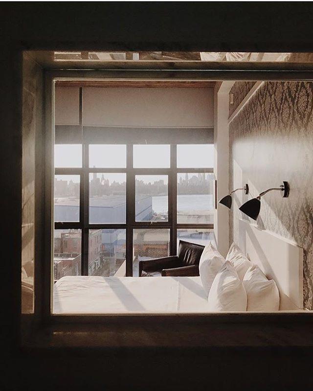 윌리엄스버그 위스 호텔 객실 내부