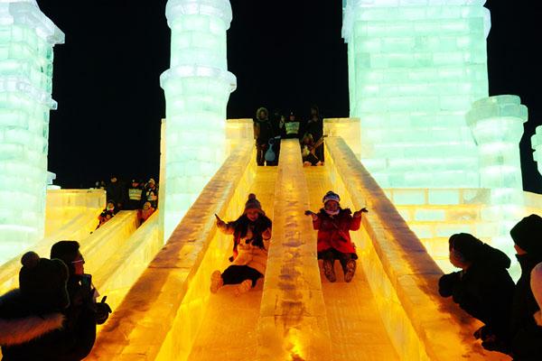 세계 3대 겨울축제 하얼빈 국제 빙설제 타이양다오 하얼빈 빙설 대세계