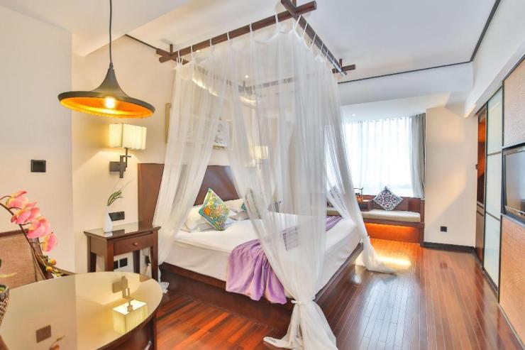 상하이 상해 여행 위치 좋은 호텔 추천 SSAW 부티크 호텔 상하이 번드 SSAW룸