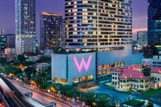 W 방콕 호텔 외관
