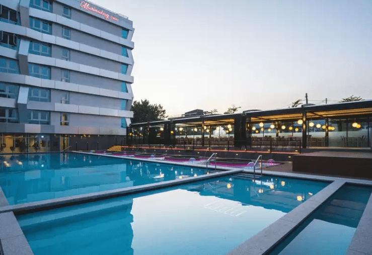 신상 호텔 마리나베이 속초 야외  수영장 성인풀, 아동풀, 족욕탕