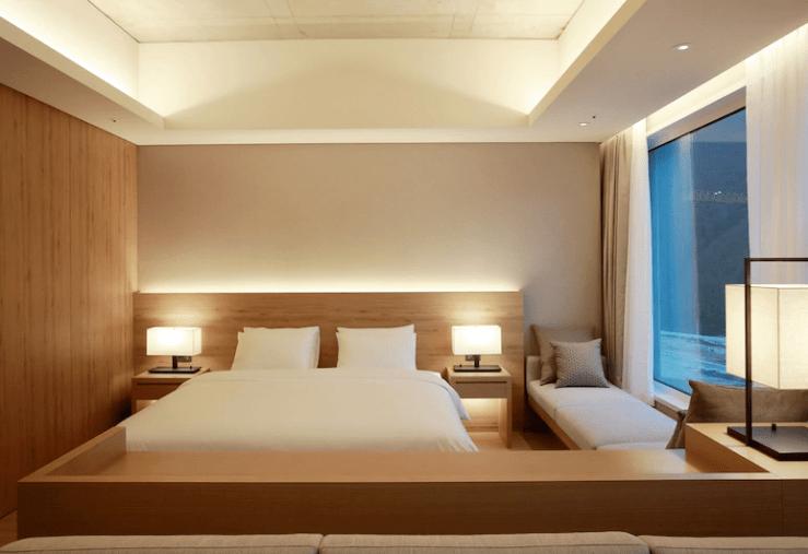 정선 파크로쉬 수면 특화 침대 및 침구