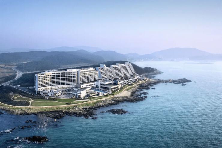 부산 기장 호텔 외관