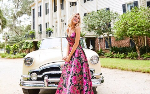 valentine's day prom dress romantic florals trendy 2019 pageant formal all the rage virginia