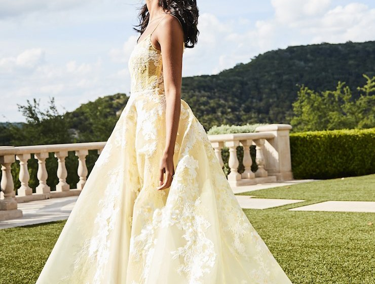 yellow prom dress 2019 all the rage virginia sherri hill