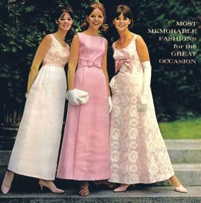 prom dresses from the late 60s