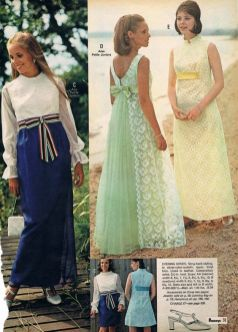 prom dresses from the late 70s