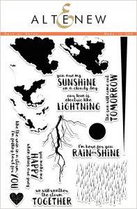 Altenew Rain or Shine Stamp Set
