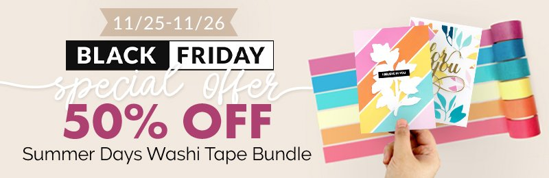 50% off Summer Days Washi Tape bundle