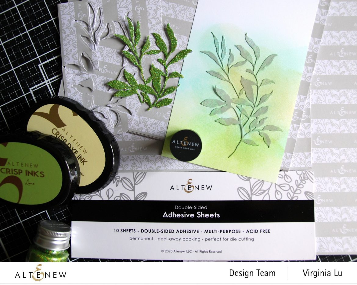 Altenew-Adhesive Sheets-Just Leaves Die Set-002