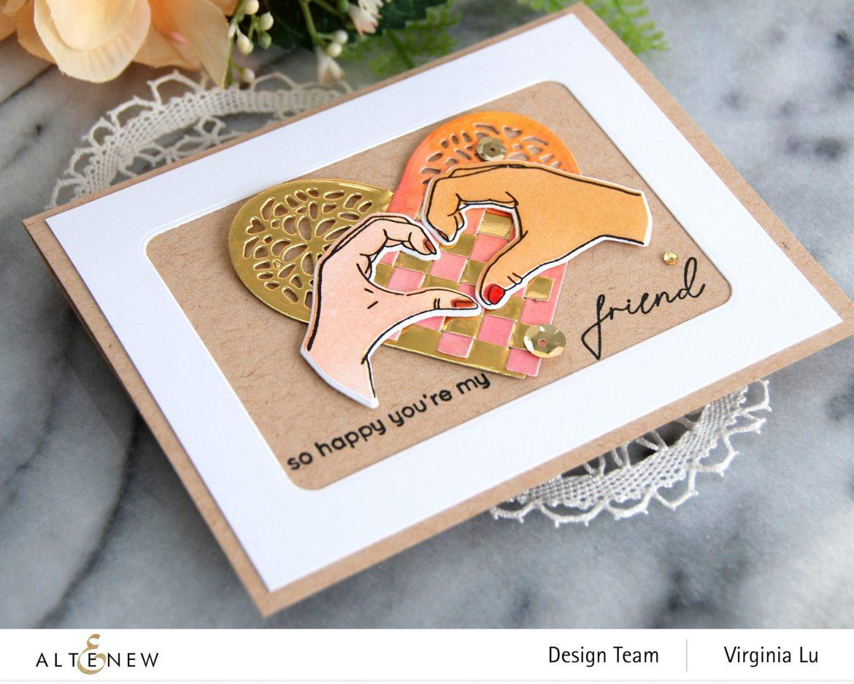 01052021-Altenew-A little Bit of Love Stamp & Die Bundle-Woven Heart Die Set-001