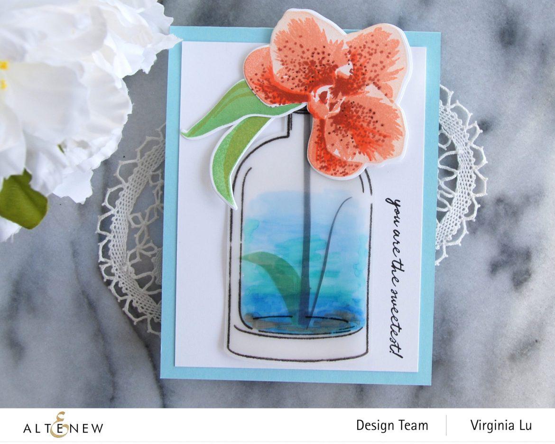 01052021-Versatile Vases 2 Stamp & Die Bundle-Spotted Orchid Stamp Stencil & Die Bundle-001