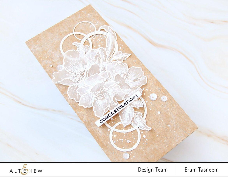 Altenew Grateful Heart + Nature Blossoms Stamp Set | Erum Tasneem | @pr0digy0