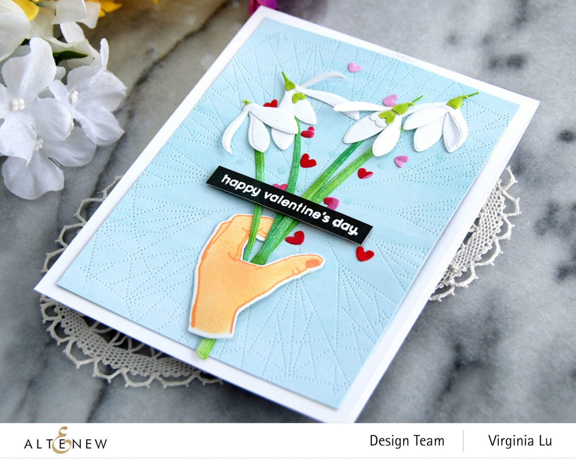 01242021-A Little Bit of Love-Dotted Lines Cover Die-CAF CAF SnowDrops-Enjoy the Ride Paper Pad -002