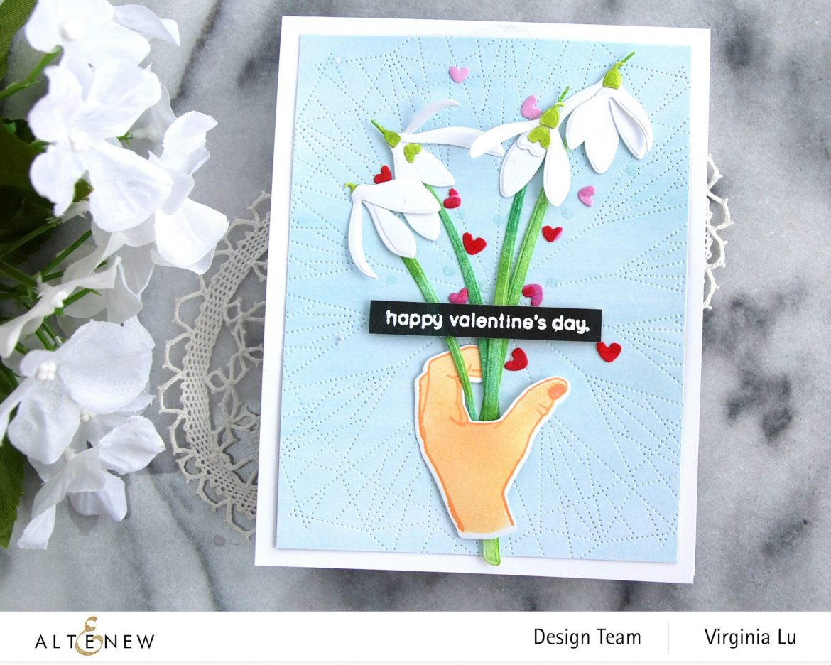 01242021-A Little Bit of Love-Dotted Lines Cover Die-CAF CAF SnowDrops-Enjoy the Ride Paper Pad -004