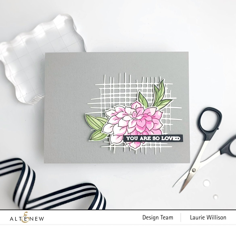 Quick Floral Card - Altenew