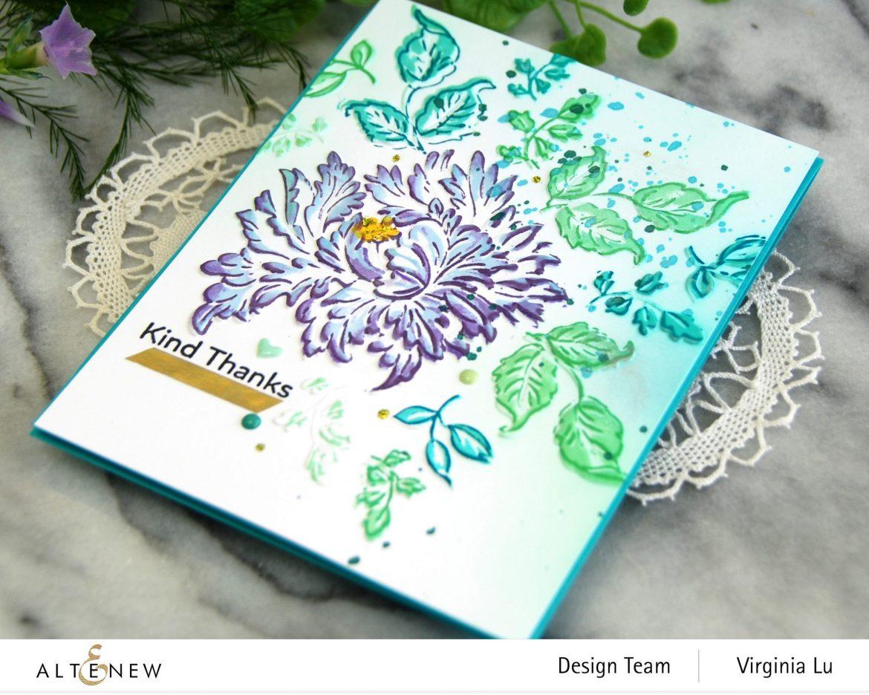 05252021-Majestic Bouquet Stamp & Die Bundle-Majestic Bloom 3D Embossing Folder-001