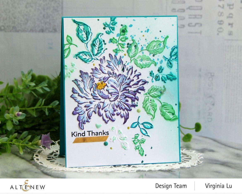 05252021-Majestic Bouquet Stamp & Die Bundle-Majestic Bloom 3D Embossing Folder-002